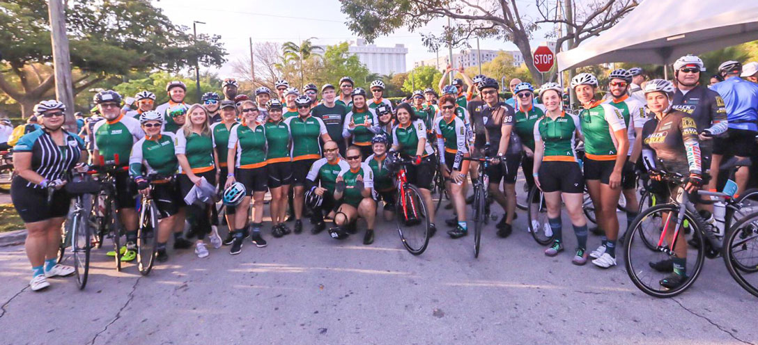 87292a55f3487 Dolphins Cancer Challenge Attracts Thousands to Ride